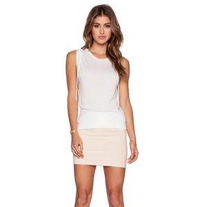 New Revolve Peach Stretch Mini Skirt - S